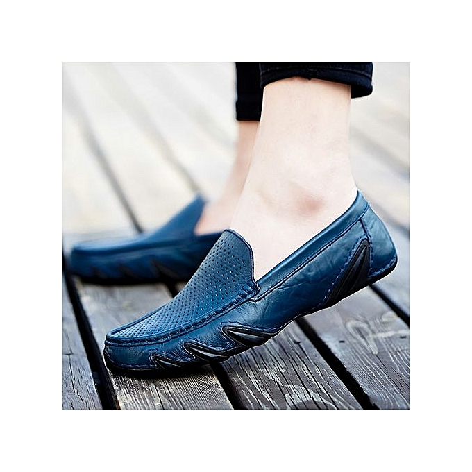 Zant Genuine Leather   Formal Shoes British Sytle Loafers Loafers Sytle Slip-On à prix pas cher  | Jumia Maroc d2e6fc
