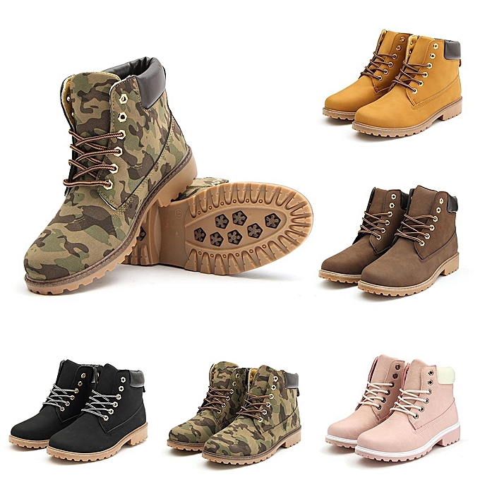 Fashion WoHommes 's Leather Snow Martin Boots Plush Plush Boots Fur Work Outdoor Casual Shoes Waterproof Camouflage à prix pas cher    Jumia Maroc c2cd76