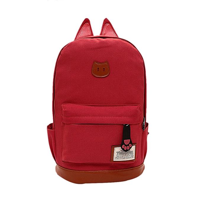nouveauorldline femmes Campus Girls voyage Young Hommes sac à dos sacs Sports School sacs WR-Watermelon rouge à prix pas cher