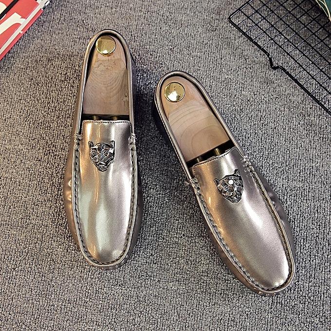 Fashion   Loafers Trends Casual Driving pas Shoes Moccasins (Golden) à prix pas Driving cher    Black Friday 2018   Jumia Maroc c56e35