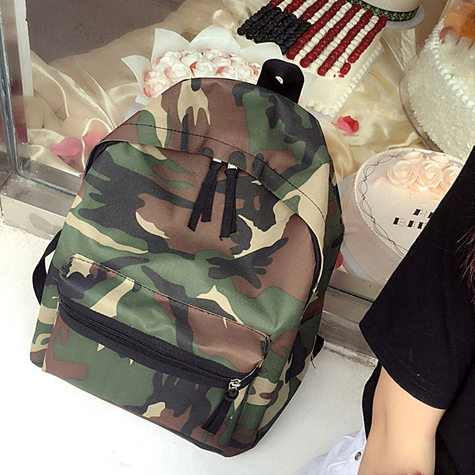 mode Singedan Shop femmes Girls garçons Camouflage Zipper sac à dos School sacs mode Shoulder sac à prix pas cher