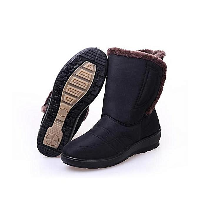 Fashion Fashion Large Size Magic Stick Waterproof Mid- calf Warm Winter Snow Winter Warm Boots à prix pas cher  | Jumia Maroc 42c9ec