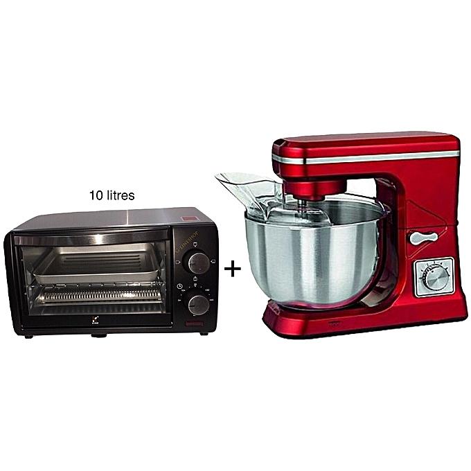 Kenz robot cuisine p trin mini four 10 litres 600w inox prix pas cher jumia maroc - Robot de cuisine petrin ...