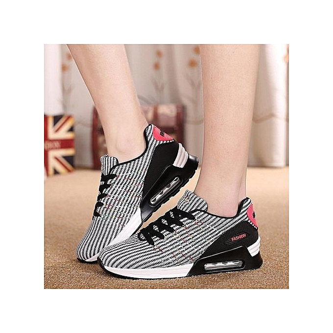 Fashion Breathable WoHommes 's Running Shoes Air Cushion Outdoor Black Sport Shoes Sneaker - Black Outdoor à prix pas cher  | Jumia Maroc 581107