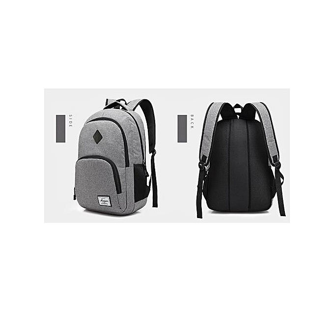 Generic Nice Men Backpacks USB Charging Male Waterproof Oxford School Bag à prix pas cher