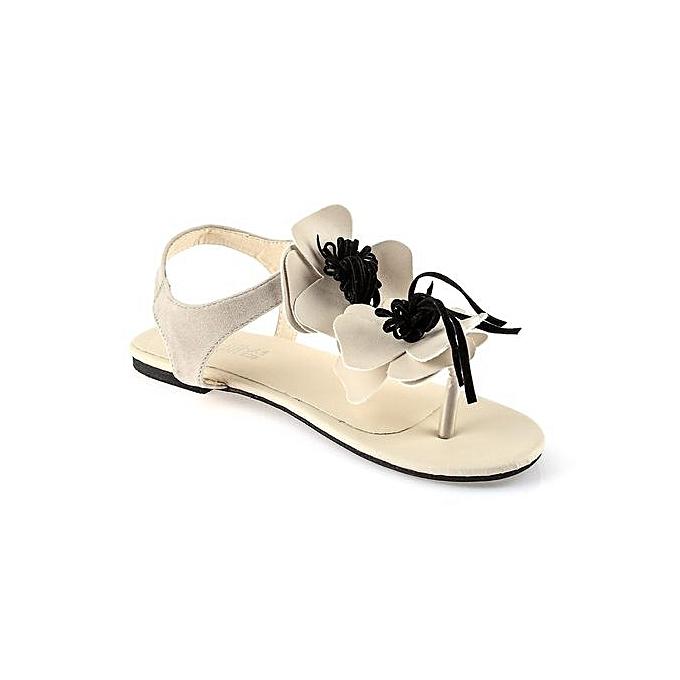 Fashion Casual Floral EmbellishHommes t Buckle     Flip-flop Sandals à prix pas cher  | Jumia Maroc 4f3898