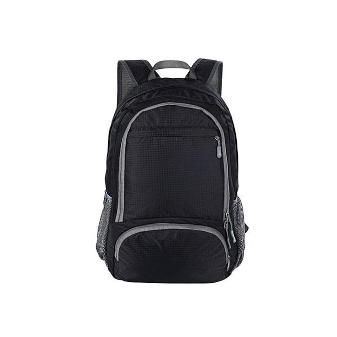 mode Singedangrand capacité de plein air voyage Shoulder sac -noir à prix pas cher