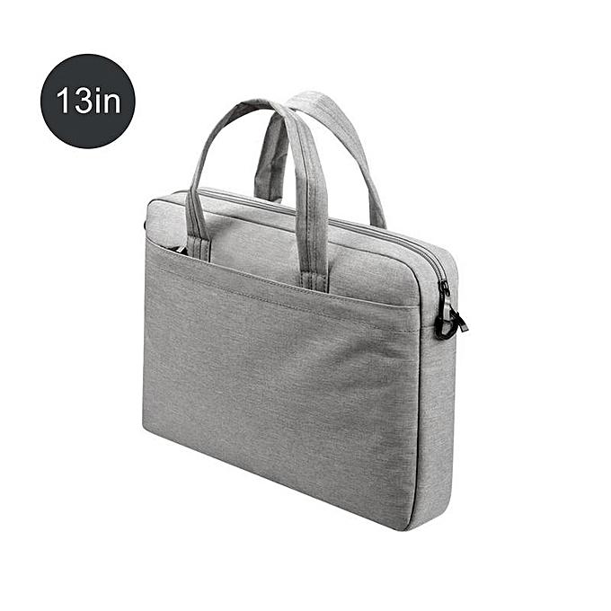 Other Laptop Briefcase Affaires Single Shoulder sac 13 15 15.6 Inch Handsac For Office Laptop Briefcases Messenger sac femmes Male sacs(gris 13) à prix pas cher