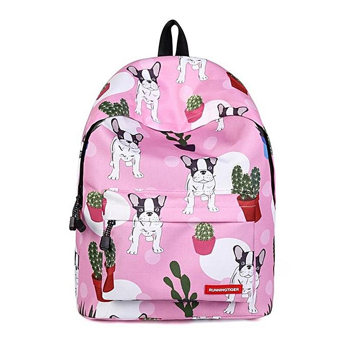 mode Wohommes Kawaii Dog Animal Panda Printed sac à dos Girls School sacs For Teenager voyage grand Knapsack Bolsos femmes sac à dos à prix pas cher