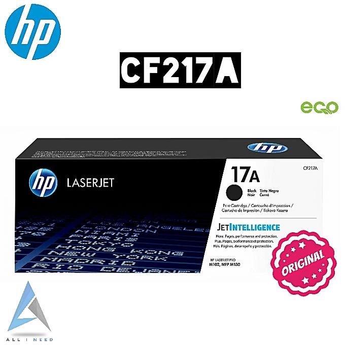 HP Toner 17A LaserJet noir 100% Original - noir  à prix pas cher
