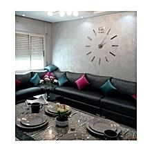 3d horloge murale design original silver max 3 diy
