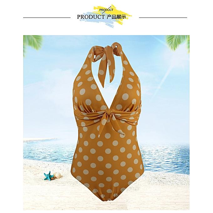 mode Open back sexy hanging neck one-piece maillot de bain maillot de bain à prix pas cher
