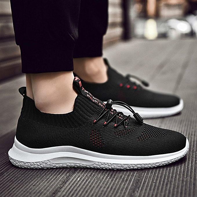 Other Stylish Men's New Fashionable Korean Leisure Lace-up Breathable Running chaussures-rouge à prix pas cher