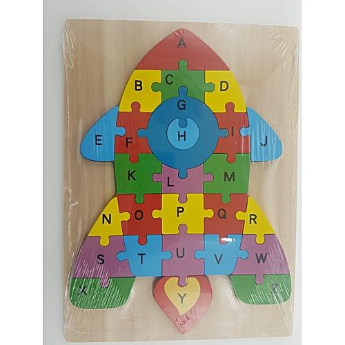 Anniversaire En Garçon Fille Fuser Jeux Jouet Multicolore Bois Enfant 3d Alphabet Éducatifs Cadeau Numéro Puzzle Voiture Nvw80mn