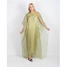 Gandoura femme - Vert a1efe1675b2