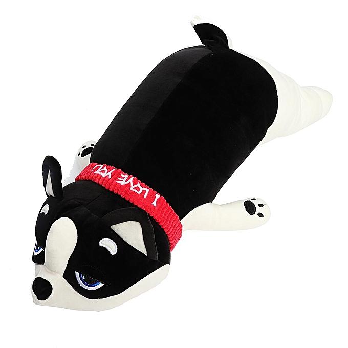 UNIVERSAL Japanese Anime Shiba Inu Dog Plush Doll Soft Stuffed Animal Toy Cute PilFaible Gift noir 50cm à prix pas cher