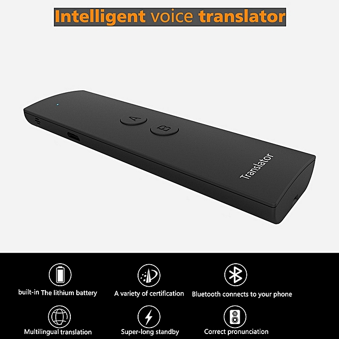 Other Smart Voice Speech Translator Portable Two-Way Real Time 30 Multi-Language Translation For Learning Travelling Business Meeting DJLAB à prix pas cher