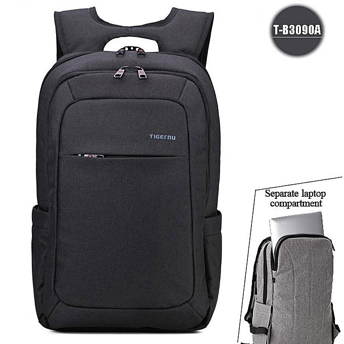 OEM Hot sale Anti theft Hommes's Affaires Daily laptop sac à dos noir à prix pas cher
