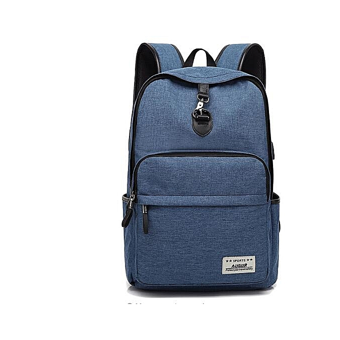 OEM nouveau arrivel nouveau Design mode Solid Couleur toile Hommes's sac à dos Student sac à prix pas cher