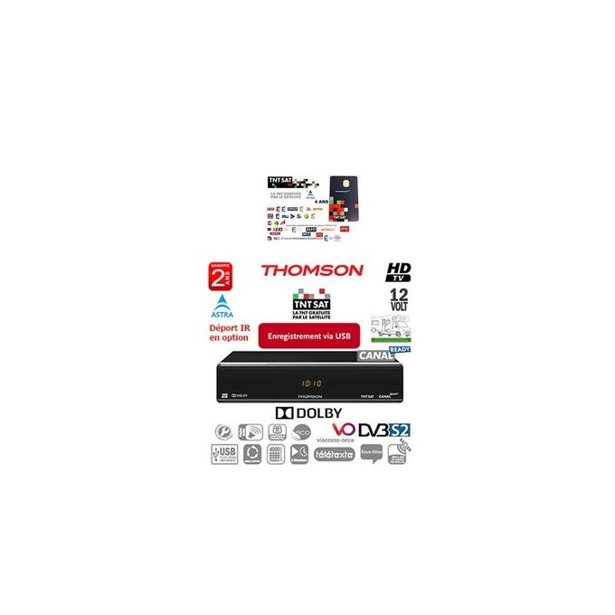Thomson THS 804 Full HD Récepteur satellite Haute