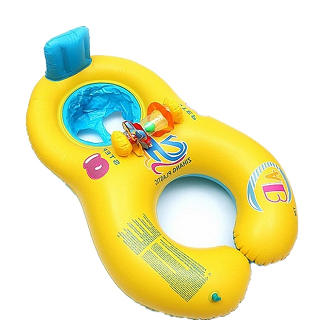 UNIVERSAL Safe Inflatable Mother   Swim Float Raft Enfant's Chair Seat Play sacue Pool Bath à prix pas cher