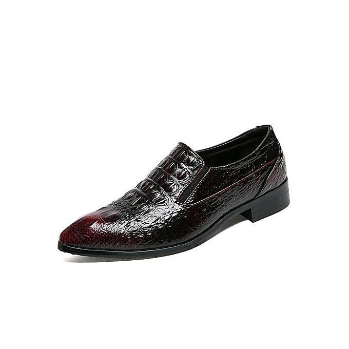 Tauntte Crocodile Pattern Formal chaussures Men Retro Casual Moccassins à prix pas cher    Jumia Maroc