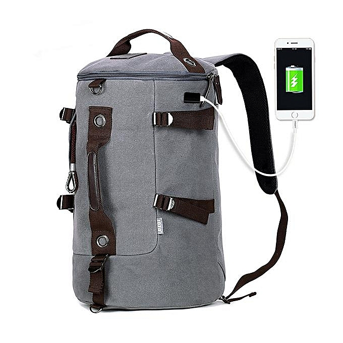 UNIVERSAL Backpack hommes casual canvas backpack one generation male multi-function large capacity travel bag à prix pas cher