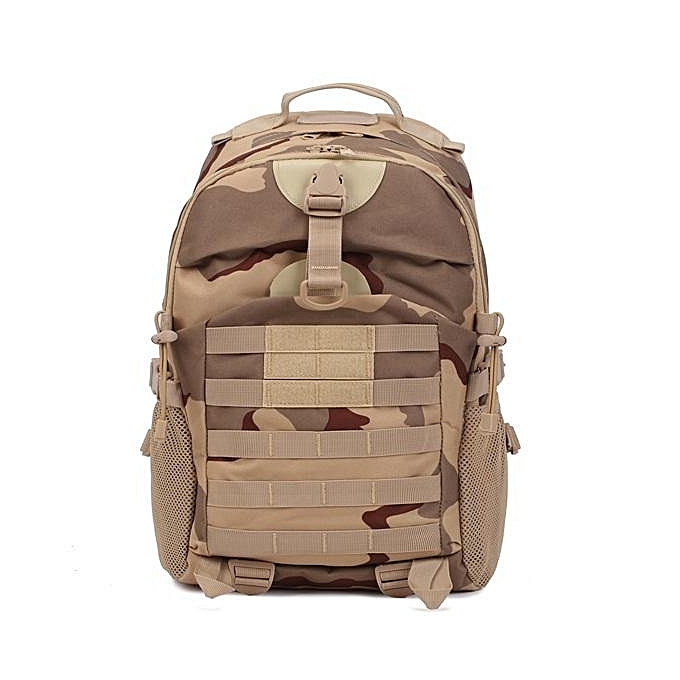 UNIVERSAL FAITH PRO 35L Men's Tactical Camping Hiking Backpack Camouflage Waterproof Mountaineering Bags  cp à prix pas cher