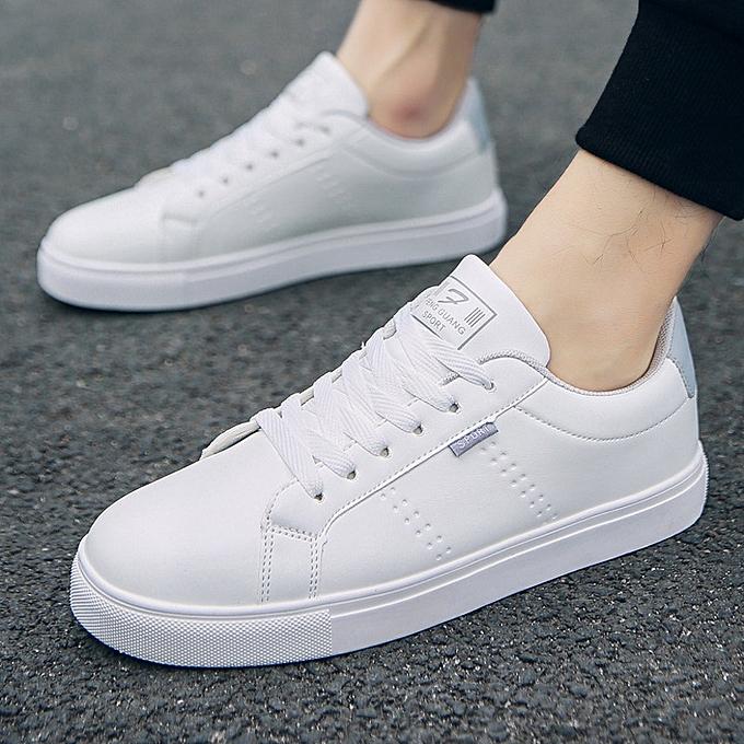 Fashion Casual chaussures hommes wild tide chaussures student chaussures-1 bleu à prix pas cher    Jumia Maroc