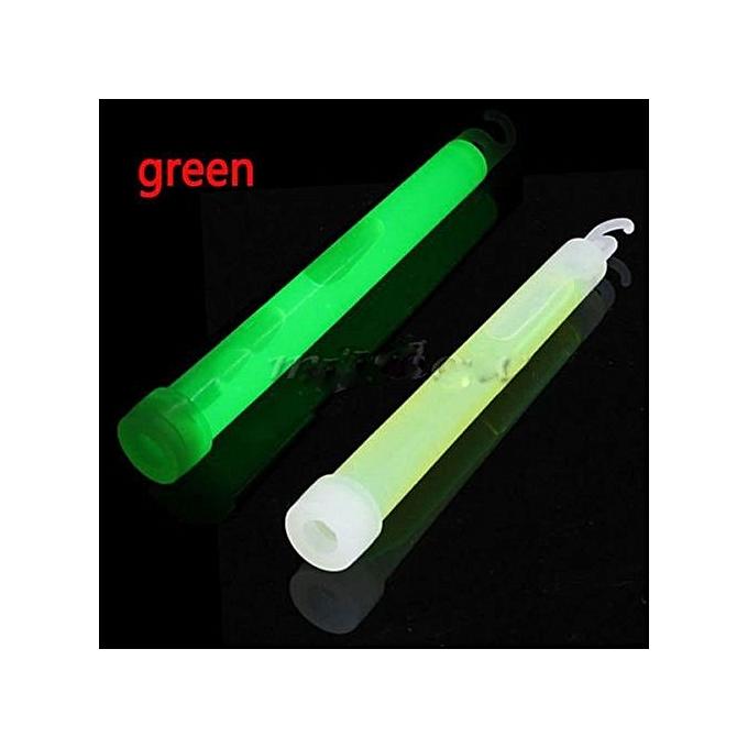 UNIVERSAL 6 Neon Rave Christmas Glow Sticks Lanyard Assorted Party Light Decor 5PCS(vert) à prix pas cher