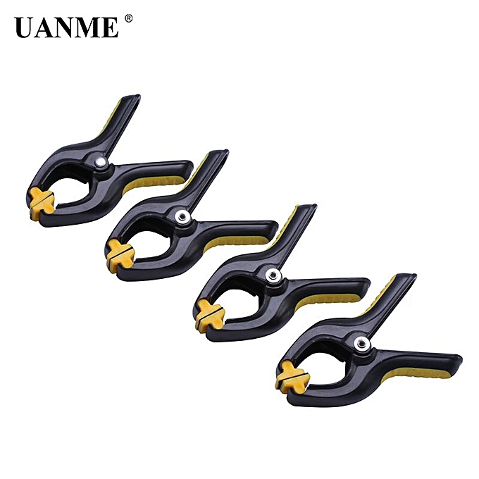 Autre 3.3 Inch Heavy Duty Plastic Nylon Spring Clamps Clip Jaw Opening Craft Photo Clip for Woodworking Tools(Random 4 pcs)(  Random 9 pcs) à prix pas cher