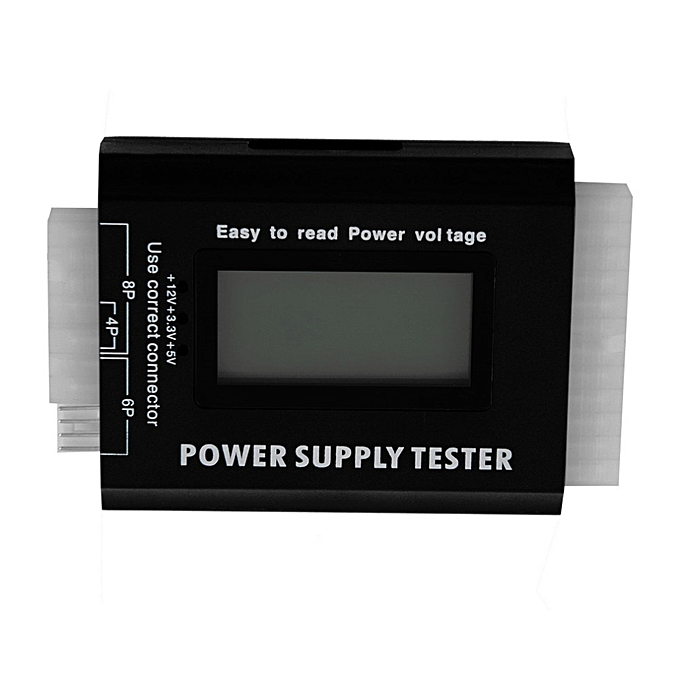 Other Digital LCD PC Computer PC Power Supply Tester 20 24 Pin SATA HDD Testers Wholesale à prix pas cher