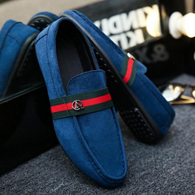 Other Men's Leisure Tide  Lazy Pedal Literary Artistic chaussures-bleure à prix pas cher