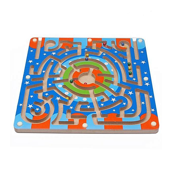 OEM Jouets éducatifs de développement éducatif de labyrinthe magnétique en bois à prix pas cher