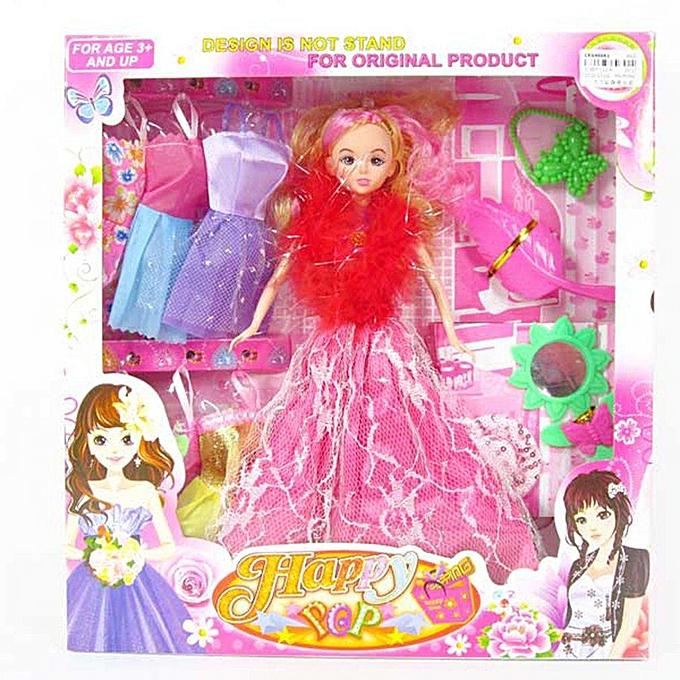 Autre UR CE048061mode Design Jouets Pour Barbie Poupée 11.5 Pouces Réel Costume De Barbie Jouets à prix pas cher