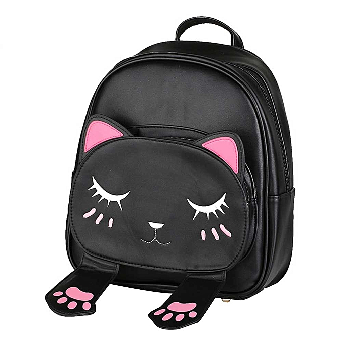 OEM Cute Cat Backpack School femmes Backpacks for Teenage Girls à prix pas cher