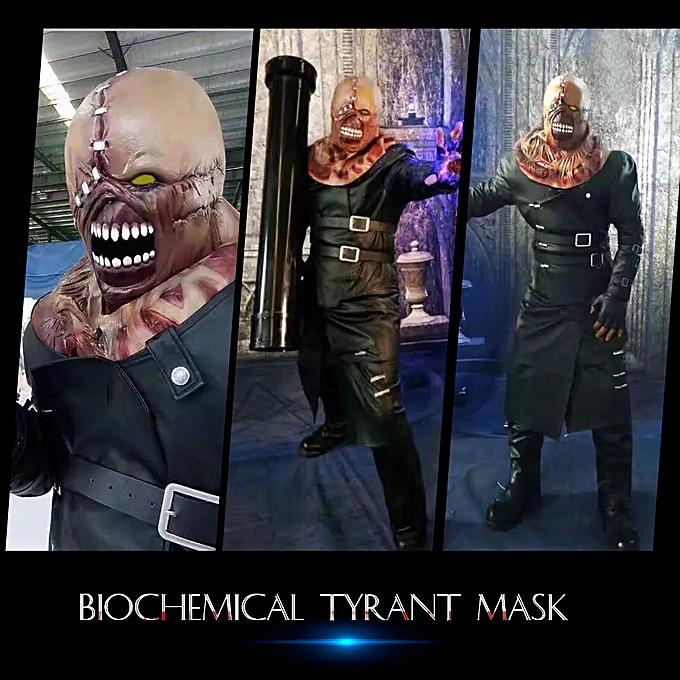 Autre Biochemical Tyrant Mask Horrible Monster Headgear for Halloween Party Decoration Backroom Film Props à prix pas cher