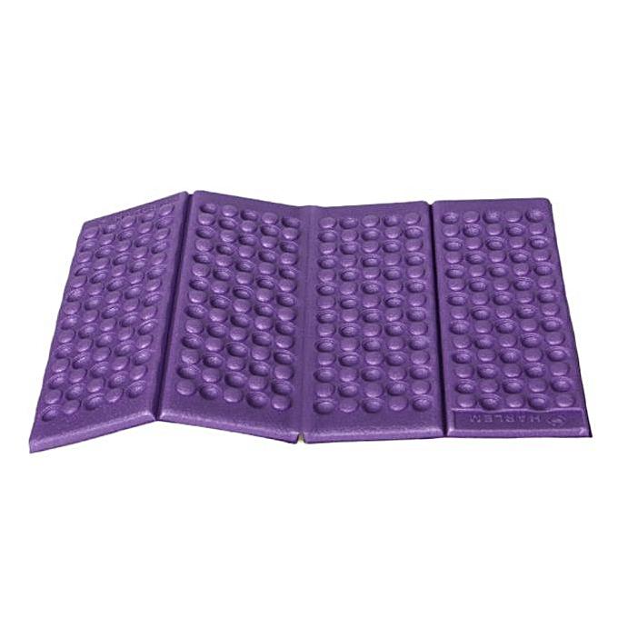 Generic High Quality Sunscreen Moisture-proof Folding EVA Foam Waterproof Pad Portable Mat Cushion Disposable Seat Camping Park Picnic(One Seat)(violet) à prix pas cher