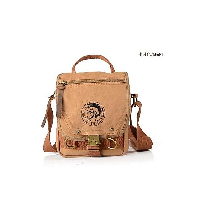 Fashion Canvas bags hommes travel bag canvas men messenger bag mini Taille à prix pas cher