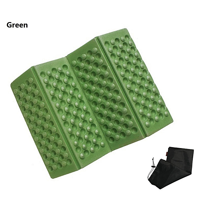 Generic Hot Selling Mat Foam Outdoor Folding Mat Cushion Waterproof Portable Outdoor Picnic Mat Camping Air Mattress(Army vert) à prix pas cher