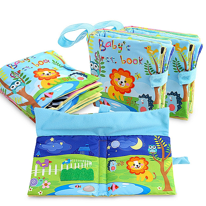 Generic nouveau Cloth Book   Enfants garçons Girls Intelligence DevelopHommest Educational Toys à prix pas cher