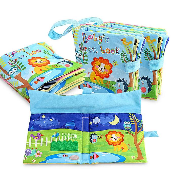 Generic nouveau Cloth Book   Enfants garçons Girls Intelligence DevelopHommest Educational Toys à prix pas cher