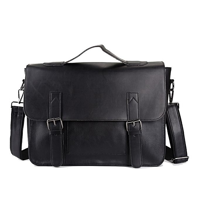 Other Multifunction hommes Handsacs Laptop sac Male Bolsa High Quality cuir imperméable sacs hommes Messnger Shoulder sacs Luxury Hot(noir) à prix pas cher