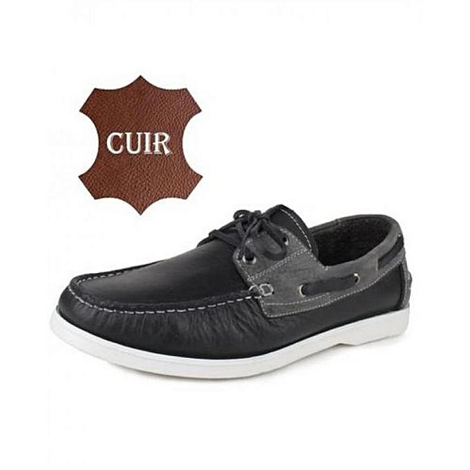 BESTBAGO Chaussure MODERNE 100% en CUIR - Noir à prix pas cher    Jumia Maroc
