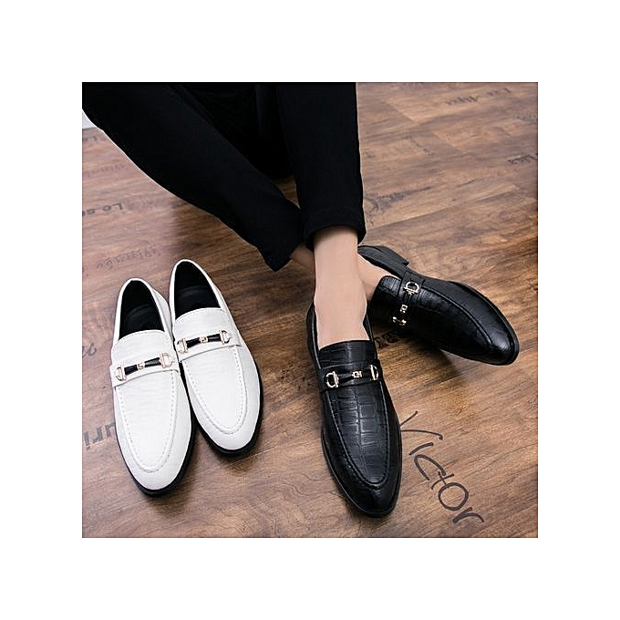 Fashion Genuine Leather   Formal Shoes British Style Style British Loafers Slip-On High Quality Fashion   Leather Shoes Luxury Brand à prix pas cher  | Jumia Maroc 2c03e3