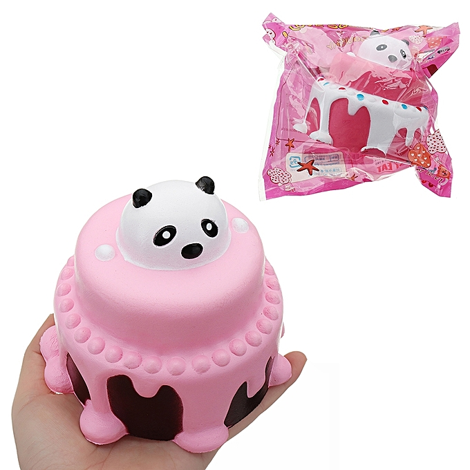 UNIVERSAL Bear Head Cake Squishy 1111.5CM SFaible Rising With Packaging Collection Gift Soft Toy-1 à prix pas cher