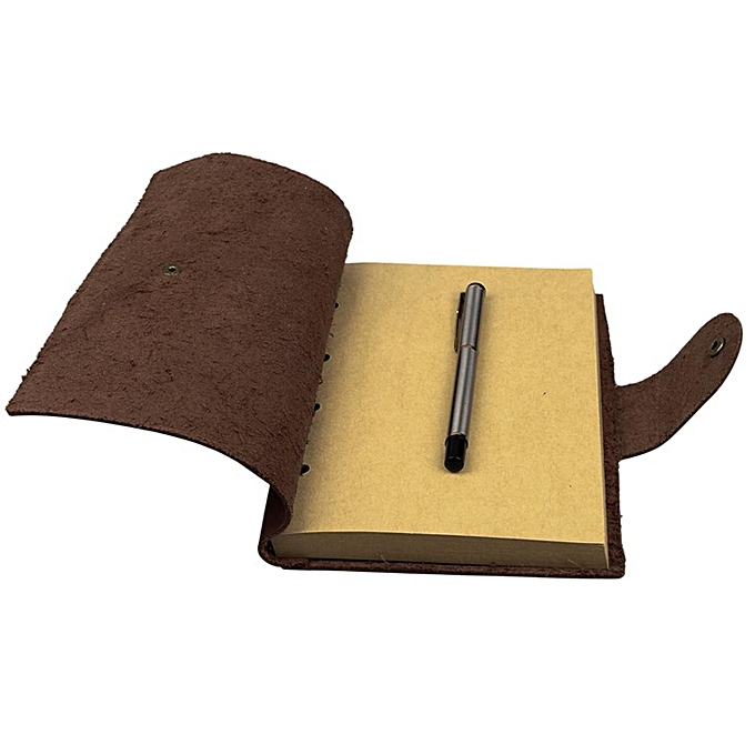 UNIVERSAL Vintage Notebook Sketch Diary Leather Cover Planner Journal Book Travel Gift à prix pas cher