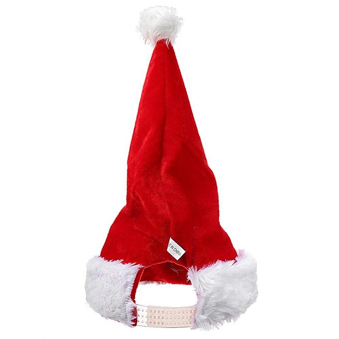 OEM Toys Electric Santa Claus Christmas Cap Elk Snowhomme Music Boy Plush Toys Christ à prix pas cher