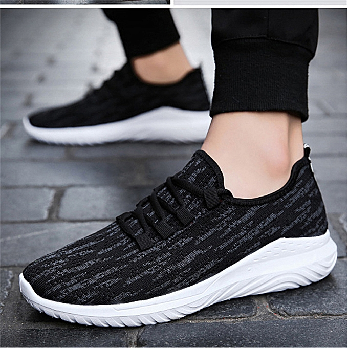 Fashion Men's Breathable Mesh baskets Casual Fitness Outdoor Sports Athletic chaussures à prix pas cher