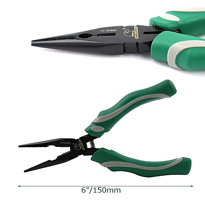 Other Wire Cutter Pliers Wire Stripper Long Nose Nippers Diagonal Beading Side Cutter For Household Combination Pliers Hand Tools(Long Nose Pliers) à prix pas cher